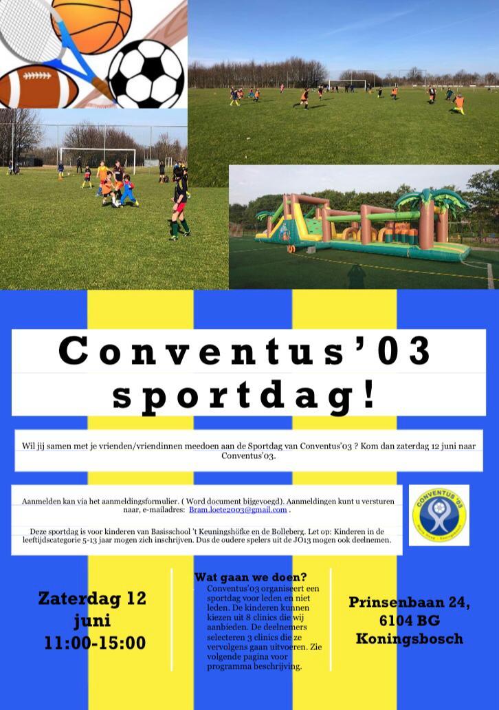 Sportdag Conventus '03